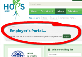 HOPS Customer Portal