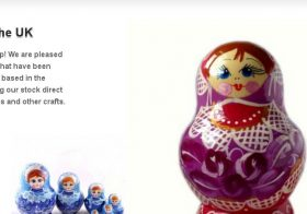 Dollcrafts E-commerce WordPress site